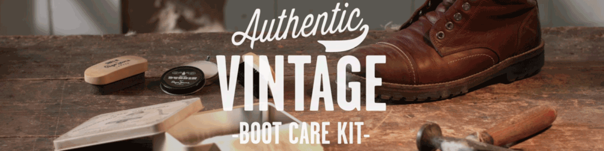 Do it your self: Authentic Vintage Boot Care Kit